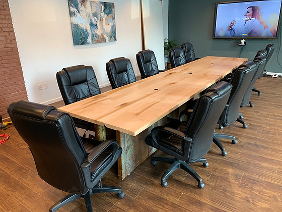 Maple Conference Table 119