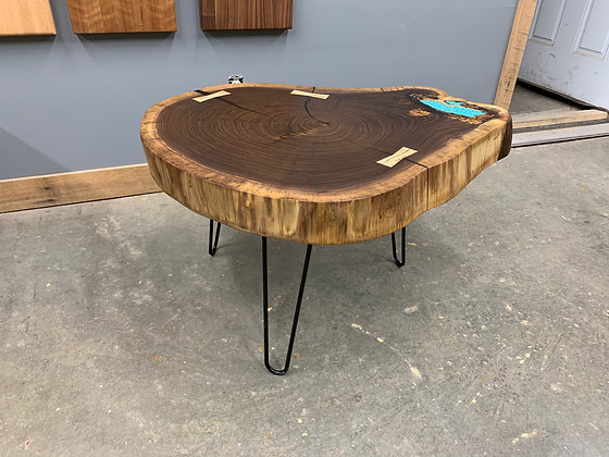 Walnut Cross Cut Coffee Table 172
