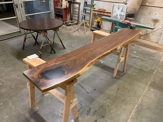 Walnut Bar Top 182