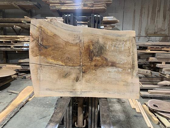 """Pin Oak (1429) 65"""" L x 40-48"""" W x 2.75"""" T"""