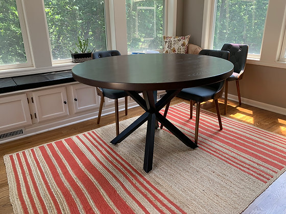 Ash Dining Table with Custom Stain 251