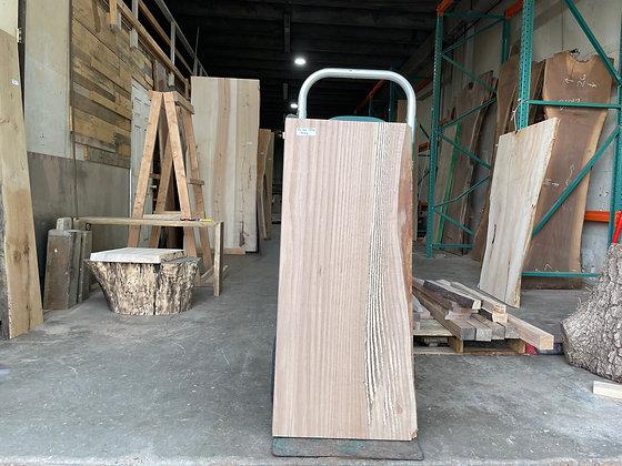 """Pin Oak (1373) 44"""" L x 17-20"""" W x 2.5"""" T"""