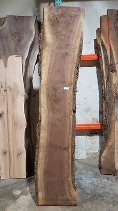 "Black Walnut (1238) 101"" L x 16-20"" W x 2.5"" T"