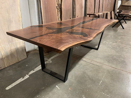 Walnut River Dining Table 107