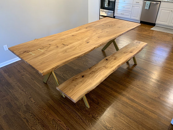 Elm Dining Table 220