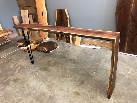 Walnut Console Table 193