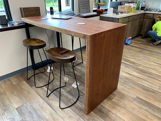 Walnut Breakroom Table 123