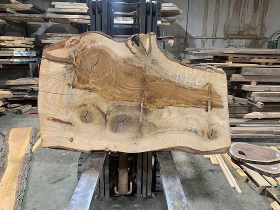 """Pin Oak (1426) 65"""" L x 26-40"""" W x 2.75"""" T"""