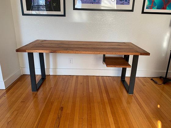 Reclaimed Red Oak Desk 248