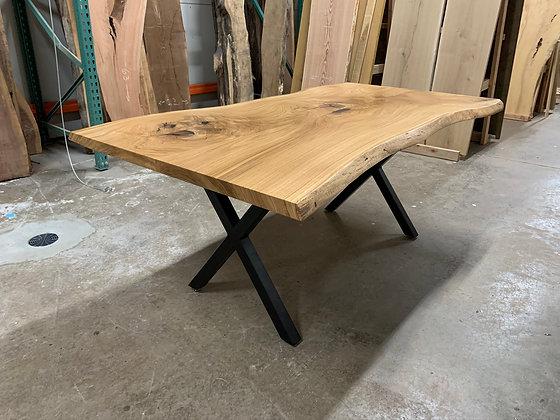 White Oak Dining Table 166