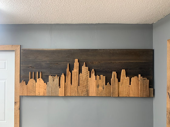 KC Skyline Wall Art