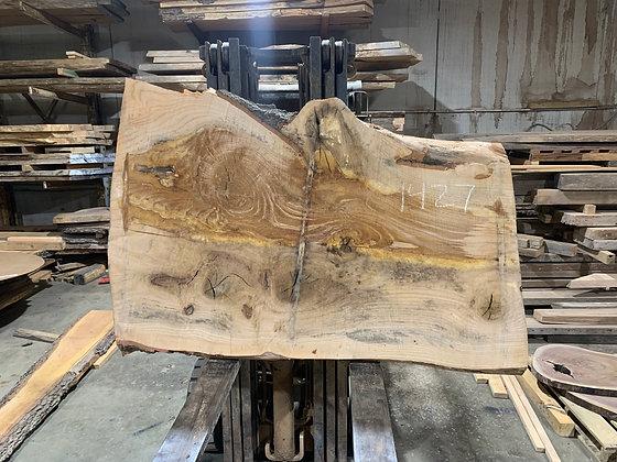 """Pin Oak (1427) 65"""" L x 33-42"""" W x 2.75"""" T"""