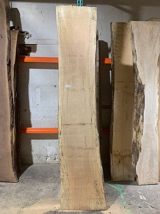"""Spalted Maple (1227) 102"""" L x 18-24"""" W x 1.5"""" T"""