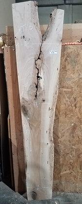 """Pin Oak (1286) 77"""" L x 11.5-18"""" W x 2"""" T"""