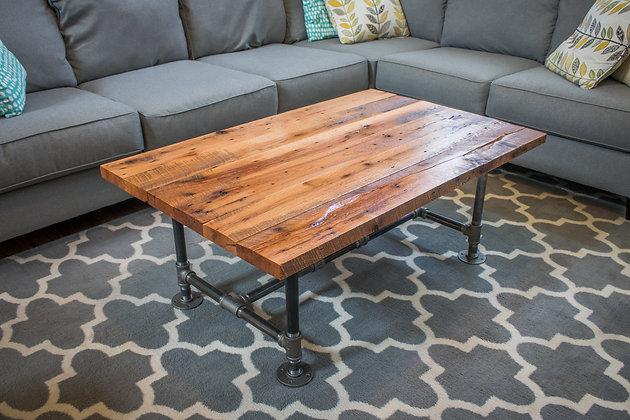 Reclaimed Red Oak Coffee Table 240
