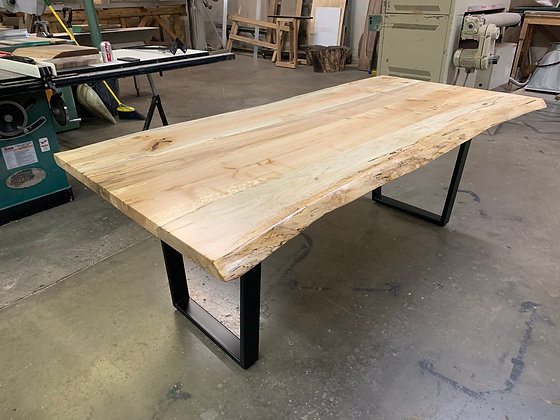 Spalted Maple Dining Table 262