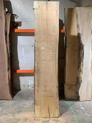 """Spalted Maple (1223) 101"""" L x 20-22"""" W x 1.5"""" T"""