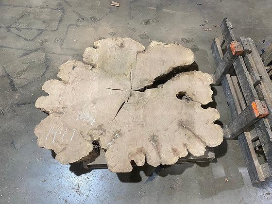 """Red Oak (1447) 68"""" L x 55"""" W x 5"""" T"""