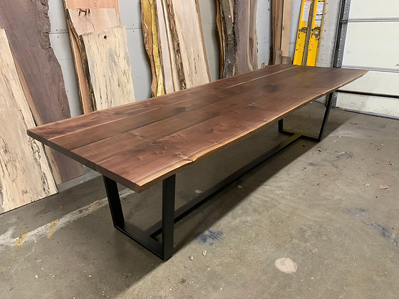 Walnut Conference Table 215