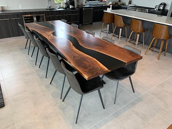 Walnut River Dining Table 106