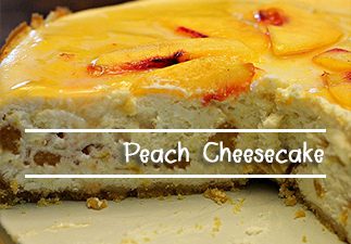 Peach Cheesecake