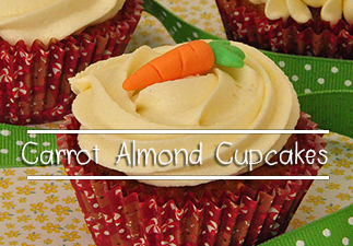 Carrot-Almond-Cupcakes