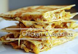 Chicken-Quseadillas
