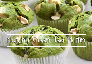 Matcha Green Tea Muffin
