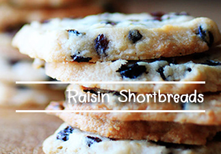 Raisin-Shortbreads