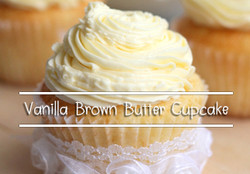 Vanilla Brown Butter Cupcake