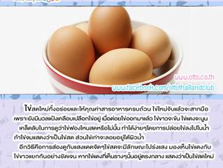 เคล็ดลับดีๆในการเลือกซื้อไข่ไข่สดใหม่