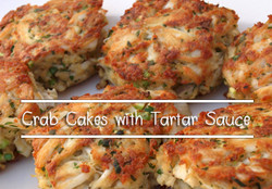 Crab Cakes with Tartar Sauce