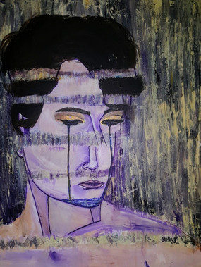 Untitled, 2014 Acrylic on canvas