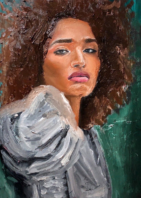 Indya, 2020 Oil on canvas