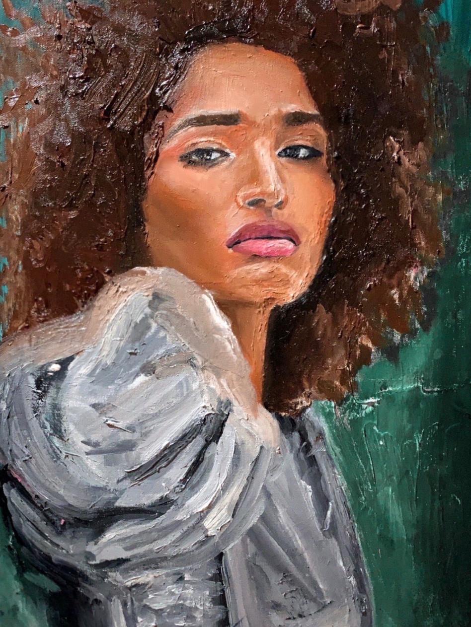 Indya, 2020 Oil on canvas