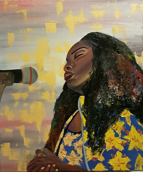Shanille, 2016 Oil on canvas