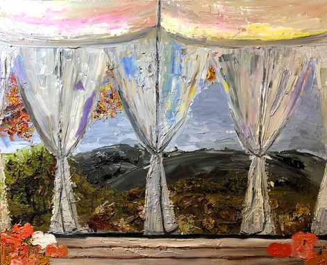 Arboretum, 2018 Oil on canvas