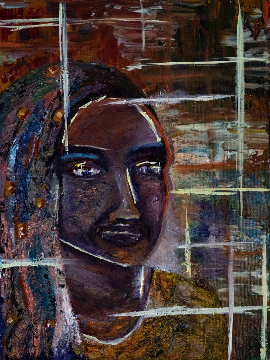 Yasmin, 2016 Oil on canvas