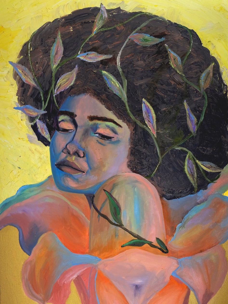 Nathalia, 2017 Oil on canvas