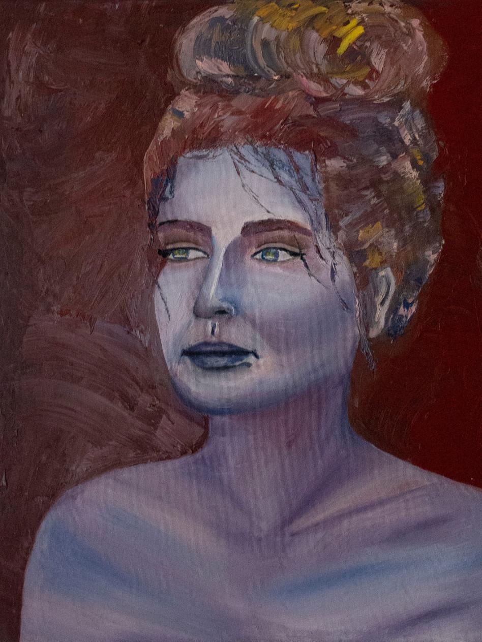Genesis, 2016 Oil on canvas