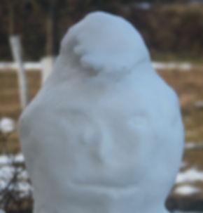 sněhulák pláče