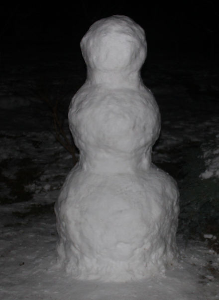 sněhulák postava