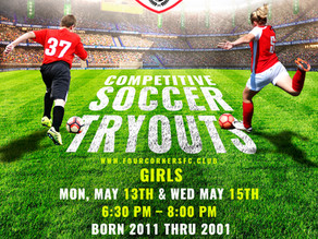 Competitive Try Outs are here