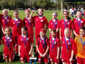 Girls 2007 Red Team - Champions!