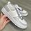 Thumbnail: Custom Grey Colour Block Nike Air Force 1's