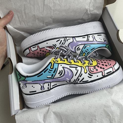 Custom Pastel Nike Air Force 1