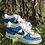 Thumbnail: Custom Blue Cartoon Nike Air Force 1's