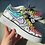 Thumbnail: Custom Pastel Drip Cartoon Nike Air Force 1's