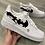 Thumbnail: Custom Shattered Swoosh Nike Air Force 1