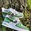 Thumbnail: Custom Green Cartoon Nike Air Force 1's